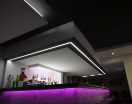 Emporio Led osvetlenie bar strop