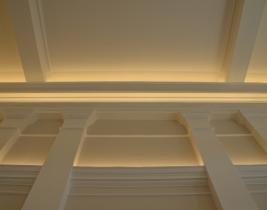 LED osvetlenie saly