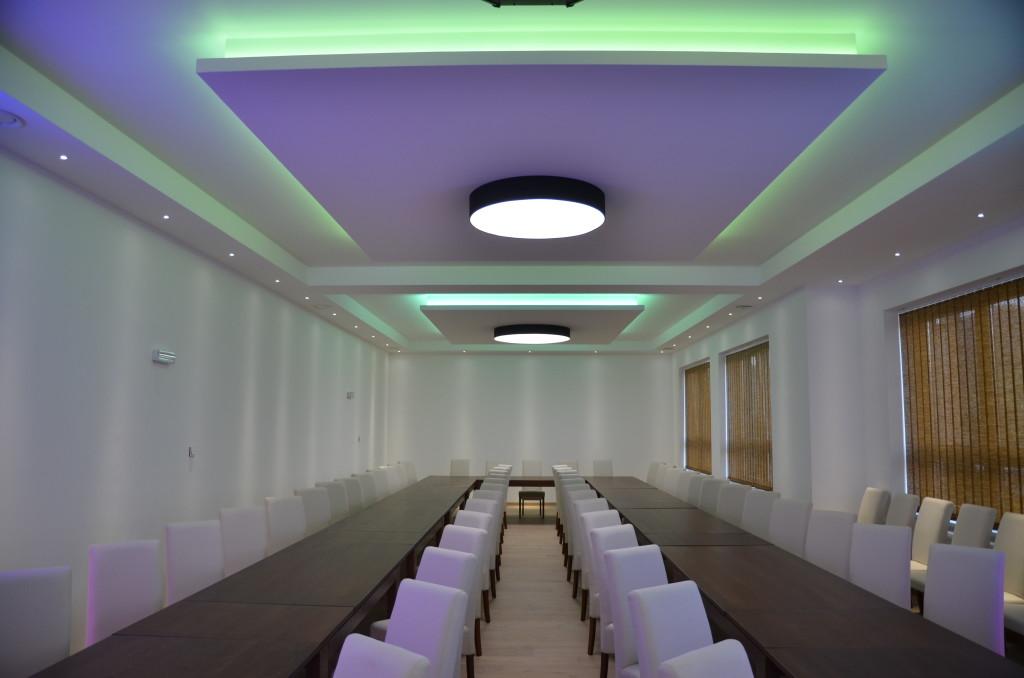 Osvetlenie spoločenskej sály